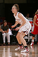 STANFORD, CA - NOVEMBER 20:  Hannah Donaghe of the Stanford Cardinal during Stanford's 84-46 win over the University of New Mexico on November 20, 2008 at Maples Pavilion in Stanford, California.