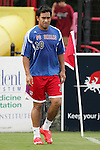 7 August 2007: Carlos Ruiz. FC Dallas of Major League Soccer defeated the Charleston Battery of the United Soccer League first division x-x in a quarterfinal match of the 2007 US Open Cup tournament at Blackbaud Stadium in Charleston, SC.
