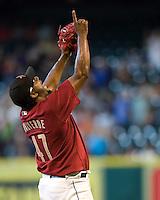 Valverde, Jose 6348.jpg Philadelphia Phillies at Houston Astros. Major League Baseball. September 7th, 2009 at Minute Maid Park in Houston, Texas. Photo by Andrew Woolley.