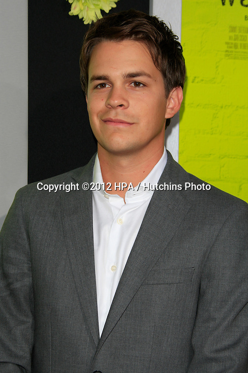 """LOS ANGELES - SEP 10:  Johnny Simmons arrives at """"The Perks of Being a Wallflower"""" Premiere at ArcLight Cinemas on September 10, 2012 in Los Angeles, CA"""