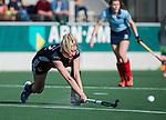 AMSTELVEEN -  Kimberly Thompson (A'dam)    tijdens   de oefenwedstrijd tussen Amsterdam en Laren dames   COPYRIGHT KOEN SUYK