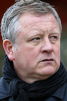 Chris Wilder (Manager) of Northampton Town during the Sky Bet League 2 match between Stevenage and Northampton Town at the Lamex Stadium, Stevenage, England on 19 March 2016. Photo by David Horn / PRiME Media Images.