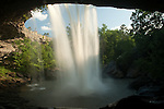 Noccalula Falls - from behind the falls