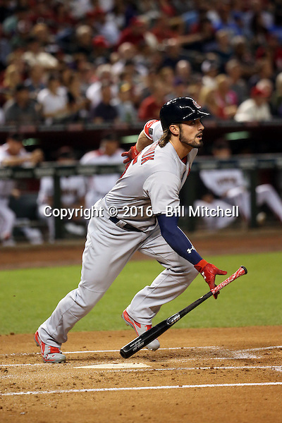 Randal Grichuk - 2016 St. Louis Cardinals (Bill Mitchell)