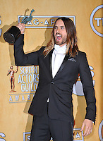 Jared Leto at the 20th Annual Screen Actors Guild Awards at the Shrine Auditorium.<br /> January 18, 2014  Los Angeles, CA<br /> Picture: Paul Smith / Featureflash