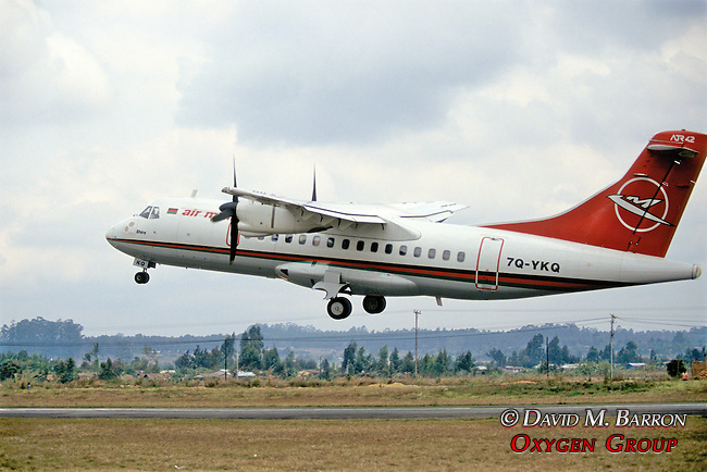 Malawi Jet Taking Off At Mzuzu Airport