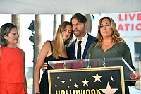 LOS ANGELES, CA. October 24, 2019: Sarah Kate Connick, Georgia Connick, Harry Connick Jr. & Jill Goodacre at the Hollywood Walk of Fame Star Ceremony honoring Harry Connick Jr.<br /> Pictures: Paul Smith/Featureflash