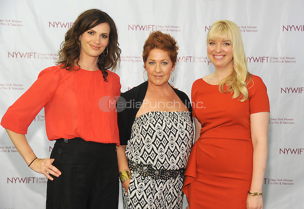 NEW YORK, NY - JUNE 13:  Sheri Kornhaber, Diana Sikes, and Caroline Duncan attends the New York Women in Film and Television Designing Women Awards on June 13, 2016 at CUNY Graduate Center in New York City. .Phto Credit: John Palmer/ Media Punch