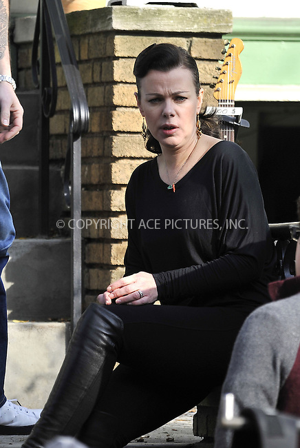 WWW.ACEPIXS.COM....Decemebr 3 2012, New York City....Actress Debi Mazur on the set of the new movie 'The Delivery Man' on December 3 2012 in New York City........By Line: Curtis Means/ACE Pictures......ACE Pictures, Inc...tel: 646 769 0430..Email: info@acepixs.com..www.acepixs.com