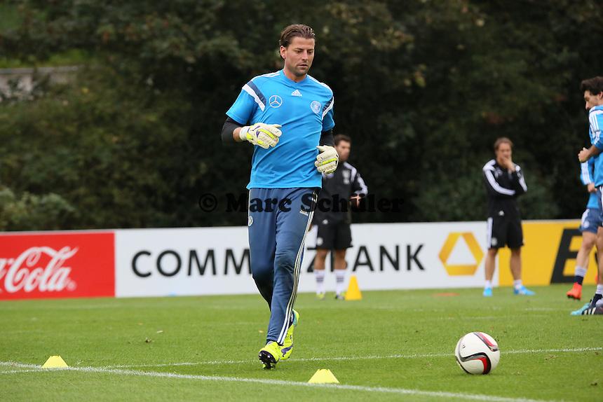 Roman Weidenfeller - Training der Deutschen Nationalmannschaft in Frankfurt