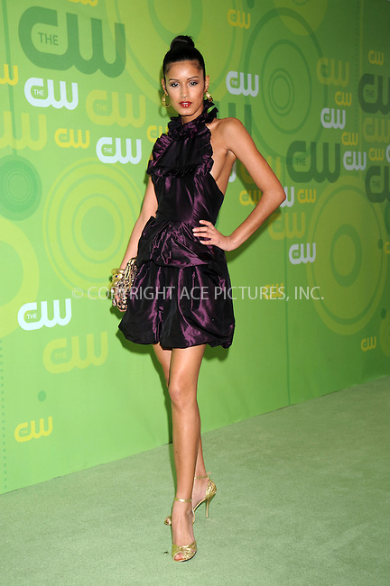WWW.ACEPIXS.COM . . . . .....May 13, 2008. New York City.....Model Jaslene Gonzalez attends the CW Network Upfronts at Lincoln Center...  ....Please byline: Kristin Callahan - ACEPIXS.COM..... *** ***..Ace Pictures, Inc:  ..Philip Vaughan (646) 769 0430..e-mail: info@acepixs.com..web: http://www.acepixs.com