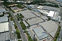 Industries of Zona Franca de Manaus, Amazonas State, Brazil.