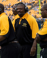 08 September 2007: Grambling Head Coach Rod Broadway..The Pitt Panthers defeated the Grambling State Tigers 34-10 on September 08, 2007 at Heinz Field, Pittsburgh, Pennsylvania.