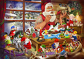 Interlitho-Franco, CHRISTMAS SANTA, SNOWMAN, WEIHNACHTSMÄNNER, SCHNEEMÄNNER, PAPÁ NOEL, MUÑECOS DE NIEVE, paintings+++++,santa workshop,toys,KL6171,#x#
