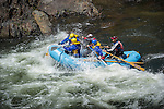 Rafting the Merced River Canyon, Calif.