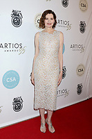 LOS ANGELES - JAN 30:  Geena Davis at the 35th Artios Awards at the Beverly Hilton Hotel on January 30, 2020 in Beverly Hills, CA