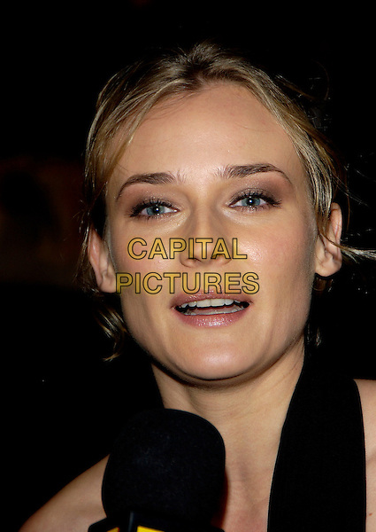 "DIANE KRUGER.""National Treasure"" premiere.Odeon West End Cinema.London 5 December 2004..portrait headshot.Ref: PL.www.capitalpictures.com.sales@capitalpictures.com.©Capital Pictures..."