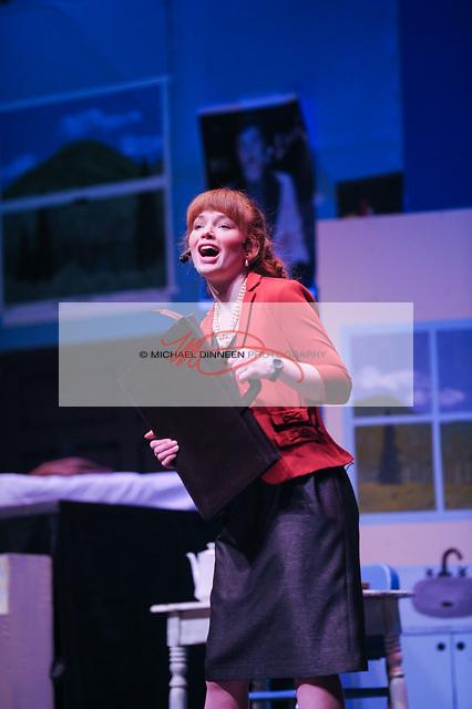CHS' Kathryn Bistodeau sings as Rosie Alvarez