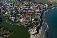 aerial photograph of the University of California Santa Barbara campus, Santa Barbara, California