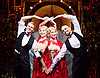Side Show <br /> at Southwark Playhouse, London, Great Britain <br /> 25th October 2016 <br /> <br /> Louise Dearman and Laura Pitt-Pulford as conjoined twins Daisy and Violet Hilton<br /> <br /> Haydn Oakley as Terry Connor<br /> <br /> Jay Marsh as Jake<br /> <br /> <br /> Side Show is presented by Paul Taylor-Mills<br /> Music composed by Henry Krieger<br /> Book and Lyrics by Bill Russell<br /> Additional Book material is by Bill Condon<br /> Directed by Hannah Chissick<br /> Choreography by Matthew Cole <br /> Design by takis <br /> Musical direction by Jo Cichonska<br /> Sound design by Dan Simpson<br /> <br /> Photograph by Elliott Franks <br /> Image licensed to Elliott Franks Photography Services
