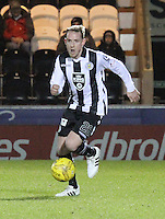 Gary irvine in the St Mirren v Falkirk Scottish Professional Football League Ladbrokes Championship match played at the Paisley 2021 Stadium, Paisley on 1.3.16.