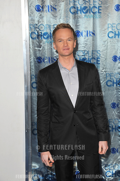 Neil Patrick Harris at the 2011 Peoples' Choice Awards at the Nokia Theatre L.A. Live in downtown Los Angeles..January 5, 2011  Los Angeles, CA.Picture: Paul Smith / Featureflash