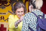 Queen Sofia during the Red Cross Fundraising day event (Dia de la Banderita) in Madrid, Spain. October 02, 2015.<br /> (ALTERPHOTOS/BorjaB.Hojas)