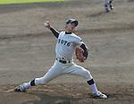 Eisuke Tanaka (Kyoto),<br /> JUNE 20, 2014 - Baseball :<br /> Intrasquad game during the Japan National University Team Selection Camp at Batting Palace Soseki Stadium Hiratsuka in Kanagawa, Japan. (Photo by BFP/AFLO)