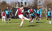 120128 West Ham Utd U18 v Arsenal U18