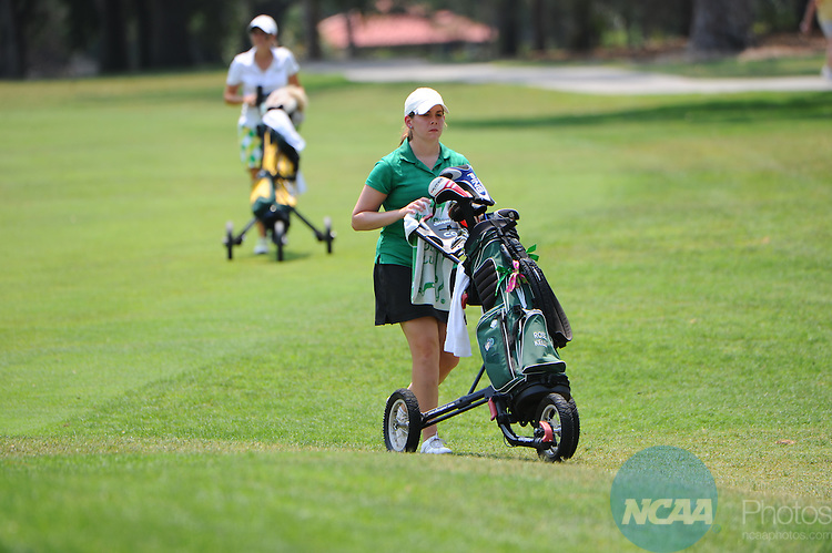 13 MAY 2011: Athletes compete during the Division III Women's Golf Championship held at the El Campeon Golf Course in Howey-in-the-Hills, FL.  Oglethorpe won the team national title with a -12 score.  Josh Duplechian/NCAA Photos