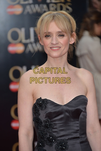 LONDON, ENGLAND - APRIL 12: Anne-Marie Duff arrives at The Olivier Awards at The Royal Opera House on April 12, 2015 in London, England.<br /> CAP/PL<br /> &copy;Phil Loftus/Capital Pictures