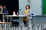 Moira Murrell KCC CEO at the Kerry County Council meeting which was held at the Kerry Sports Acadamy building at the IT Tralee campus due to Covid-19 restrictions.
