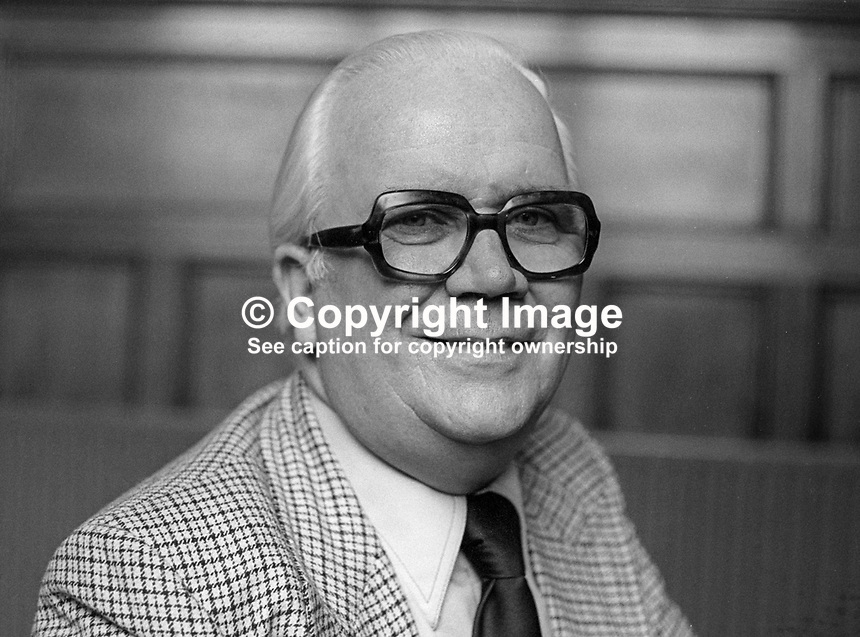 Brendan Harkin, chief executive, N Ireland Labour Relations Agency, March, 1978, 1978030137<br />
