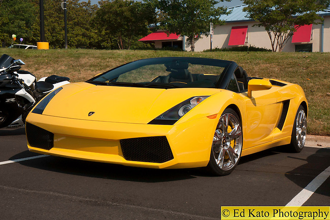 The Gallery For Gt Yellow Lamborghini Convertible