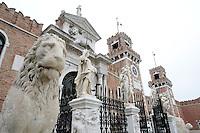 L'entrata dell'Arsenale di Venezia.<br /> The entrance of the Arsenale of Venice.<br /> UPDATE IMAGES PRESS/Riccardo De Luca
