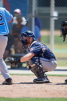 Minnesota Twins Taylor Grzelakowski (35) during a Minor League Spring Training game against the Tampa Bay Rays on March 15, 2018 at CenturyLink Sports Complex in Fort Myers, Florida.  (Mike Janes/Four Seam Images)