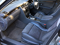 BNPS.co.uk (01202) 558833. <br /> Pic: Bonhams/BNPS<br /> <br /> Full leather interior...obviously.<br /> <br /> Whole Lotta saloon car...Most people would associate hell raising rock stars with Ferraris, Lamborghini's and Rollers...<br /> <br /> But this sedate Audi saloon car formerly owned by Led Zeppelin front man Robert Plant is being auctioned for just £6,000.<br /> <br /> The understated S8 saloon was bought from new by the iconic musician in 2002 and he used it as his every day run around.<br /> <br /> Despite the 71-year-old's legendary reputation as a hell raiser, the Audi is actually relatively refined and enjoys a soft and comfortable ride.