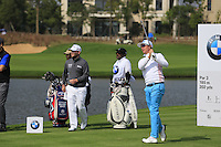 Miko Ilonen (FIN) tees off the 6th tee during Sunday's Final Round of the 2014 BMW Masters held at Lake Malaren, Shanghai, China. 2nd November 2014.<br /> Picture: Eoin Clarke www.golffile.ie