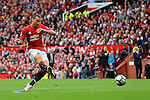 Zlatan Ibrahimovic of Manchester United fires a shot at goal during the Premier League match at Old Trafford Stadium, Manchester. Picture date: September 24th, 2016. Pic Sportimage