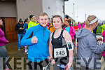 Martin Burke and Rachel Malone at the Kerins O'Rahilly's '1916' 10k Run on Sunday