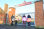 Teachers protest St Marys