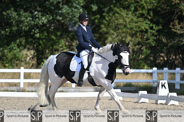 Stapleford Abbotts. United Kingdom. 08 September 2019. Class 1. British dressage. Brook Farm training centre. Essex. UK.~ 08/09/2019.  MANDATORY Credit Garry Bowden/Sport in Pictures - NO UNAUTHORISED USE - 07837 394578