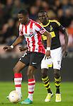 Nederland, Eindhoven, 25 oktober  2012.Europa League.Seizoen 2012-2013.PSV-AIK .Jetro Willems van PSV in actie met de bal