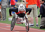 May 17, 2011 Colorado Springs, CO.  Marine Corps athlete, Peter Park, wins the 800 meter competition during the 2011 Warrior Games at the U.S. Olympic Training Center, Colorado Springs, CO...