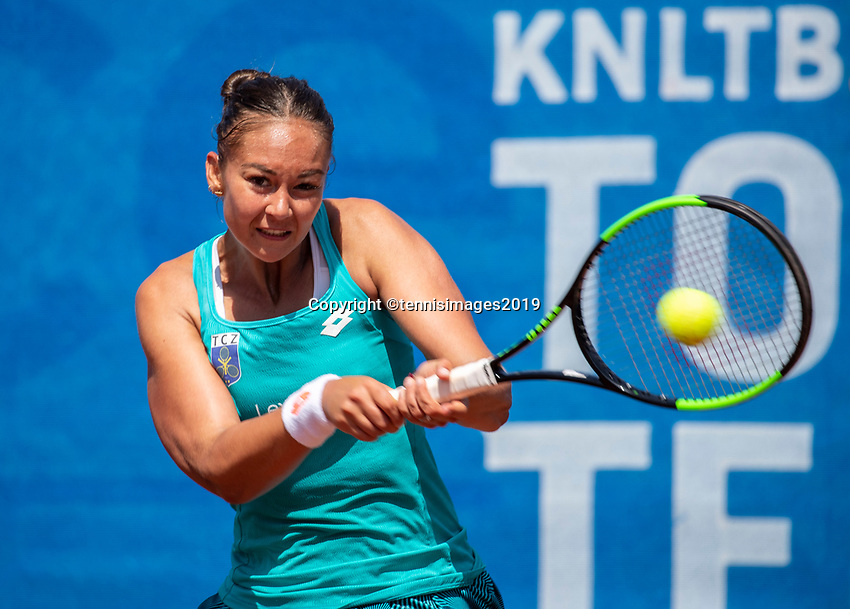 Zandvoort, Netherlands, 9 June, 2019, Tennis, Play-Offs Competition, Lesley Kerkhove (NED)<br /> Photo: Henk Koster/tennisimages.com
