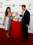 WESTWOOD, CA. - September 17: Eva Longoria Parker and Mario Lopez arrive at the 2009 ALMA Awards held at Royce Hall on the UCLA Campus on September 17, 2009 in Los Angeles, California.