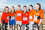 At the North Kerry's KDYS 'fittest Club'  Challenge at Ballyheigue beach  on Saturday were Sinead O'Brien,Kira Reidy,Kieran Monahan, Marcus Leane, Katie O'Halloran,  Aoife Godley from Ballyheigue YouthClub