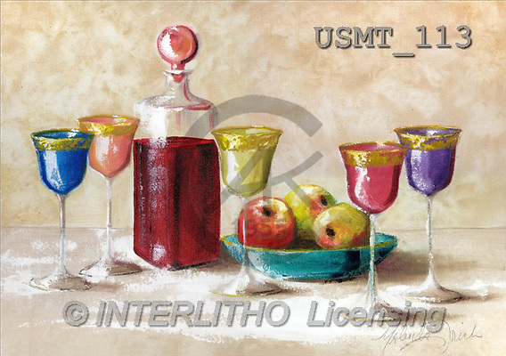 Malenda, STILL LIFES, paintings(USMT113,#I#) Stilleben, naturaleza muerta, illustrations, pinturas