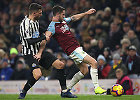 Burnley's Robbie Brady<br /> <br /> Photographer Rachel Holborn/CameraSport<br /> <br /> The Premier League - Burnley v Newcastle United - Monday 26th November 2018 - Turf Moor - Burnley<br /> <br /> World Copyright &copy; 2018 CameraSport. All rights reserved. 43 Linden Ave. Countesthorpe. Leicester. England. LE8 5PG - Tel: +44 (0) 116 277 4147 - admin@camerasport.com - www.camerasport.com