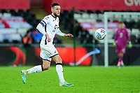 Matt Grimes of Swansea City in action during the Sky Bet Championship match between Swansea City and Barnsley at the Liberty Stadium in Swansea, Wales, UK. Sunday 29 December 2019